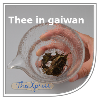 Phu Erh thee in gaiwan