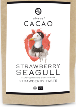Strawberry seagull cacao